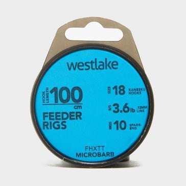 Blue Westlake Feeder Hooklengths Size 18