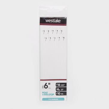 White Westlake Pole Kwik-Stop Rig (Size 16)