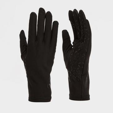 BLACK North Ridge Men's Gel Palm Stretch Glove