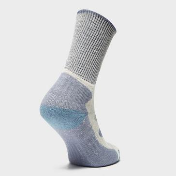 Blue Bridgedale Women's Hike Lightweight Boot Sock