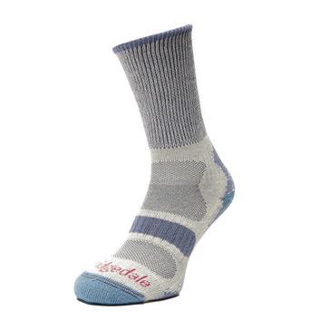 Blue Bridgedale Women's Hike Lightweight Coolmax® Socks