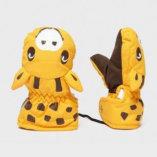 Kids' Animal Giraffe Mitts