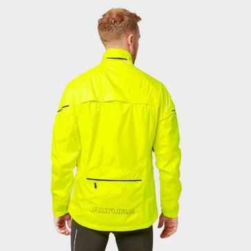 Yellow Altura Men's Nevis Waterproof High-Visibility Jacket