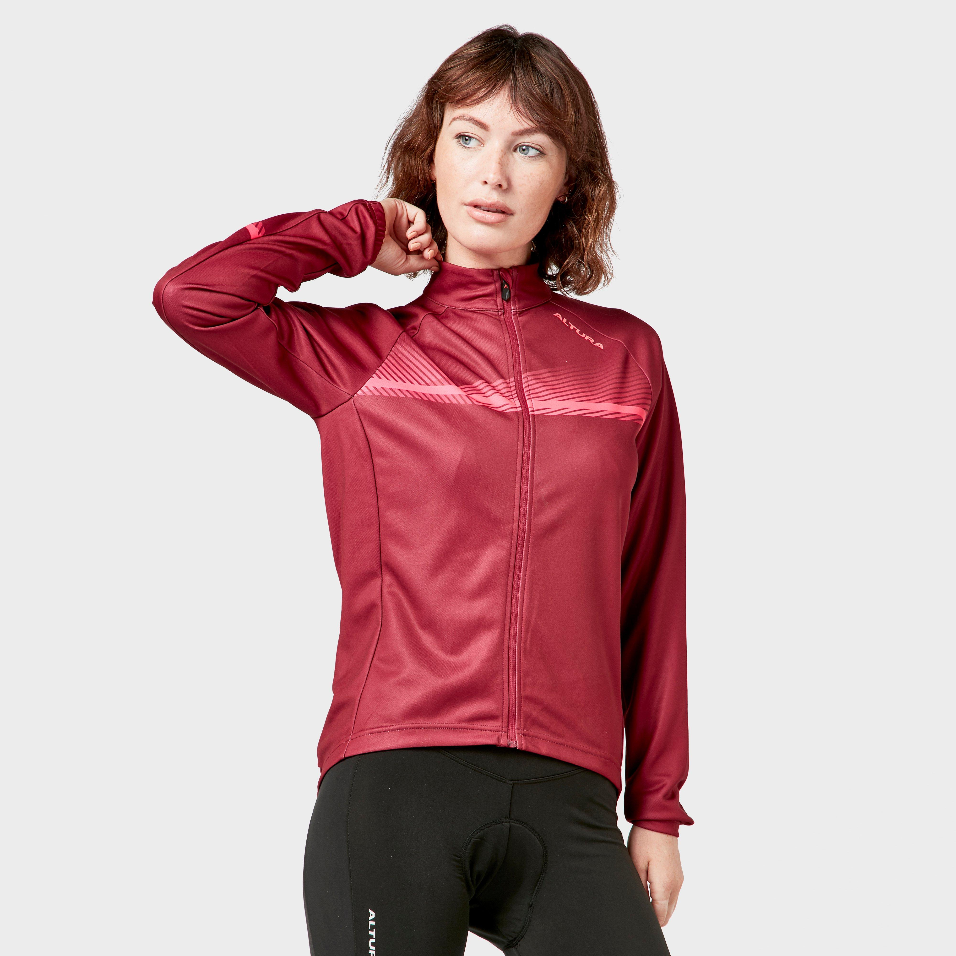 Altura Altura womens Airstream Long Sleeve Jersey - Red, Red