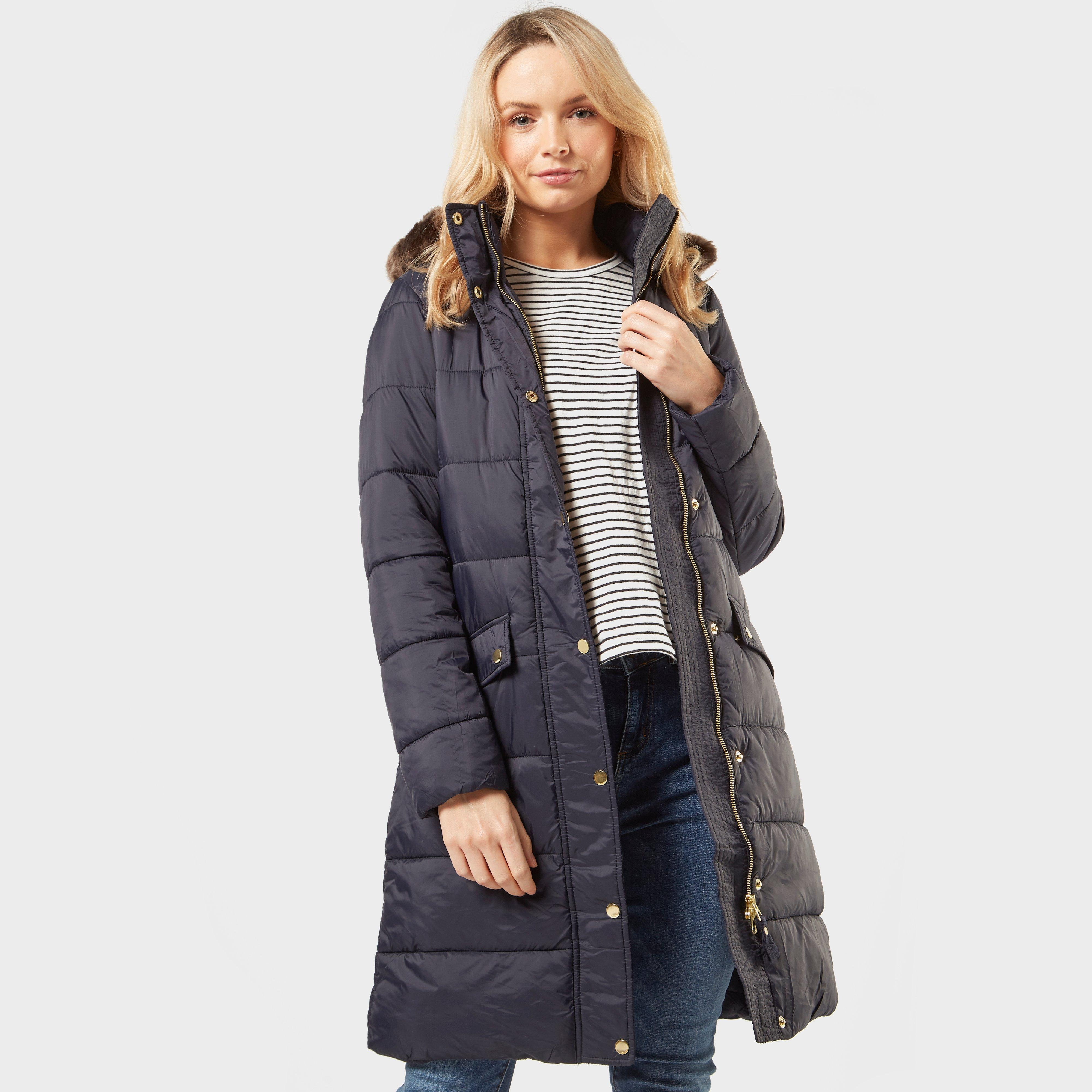 Joules Joules Womens Hartwell Longline Baffle Jacket - Navy, Navy