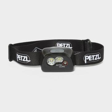 Black Petzl Actik Core Head Torch