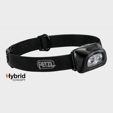 Black Petzl Tactikka + RGB Headlamp