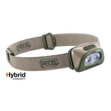Green Petzl Tactikka® + RGB Headlamp