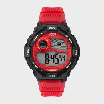 Black Limit Men's Active Digital Watch