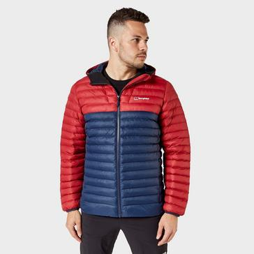 Blue Berghaus Men's Claggan Insulated Jacket