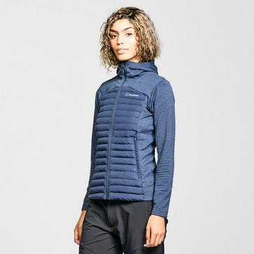 Blue Berghaus Women's Nula Hybrid Insulated Jacket