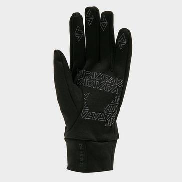 Black Sealskinz Water Repellent All-Weather Gloves