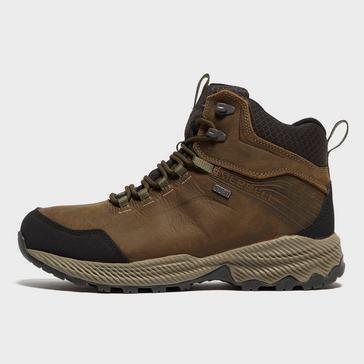 Brown Merrell Men's Forestbound Mid Walking Boot