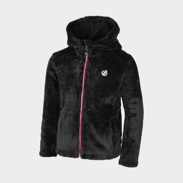 Black Dare 2B Kids' Prelim Full Zip Hooded Fleece