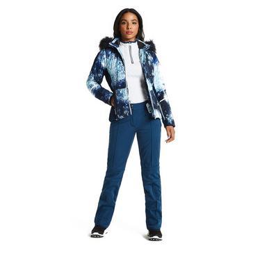 Navy Dare 2B Women's Clarity Luxe Ski Pants