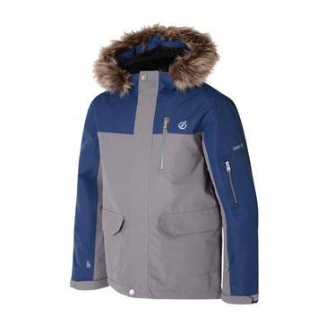 Dare 2B Kids' Furtive Fur Trimmed Ski Jacket