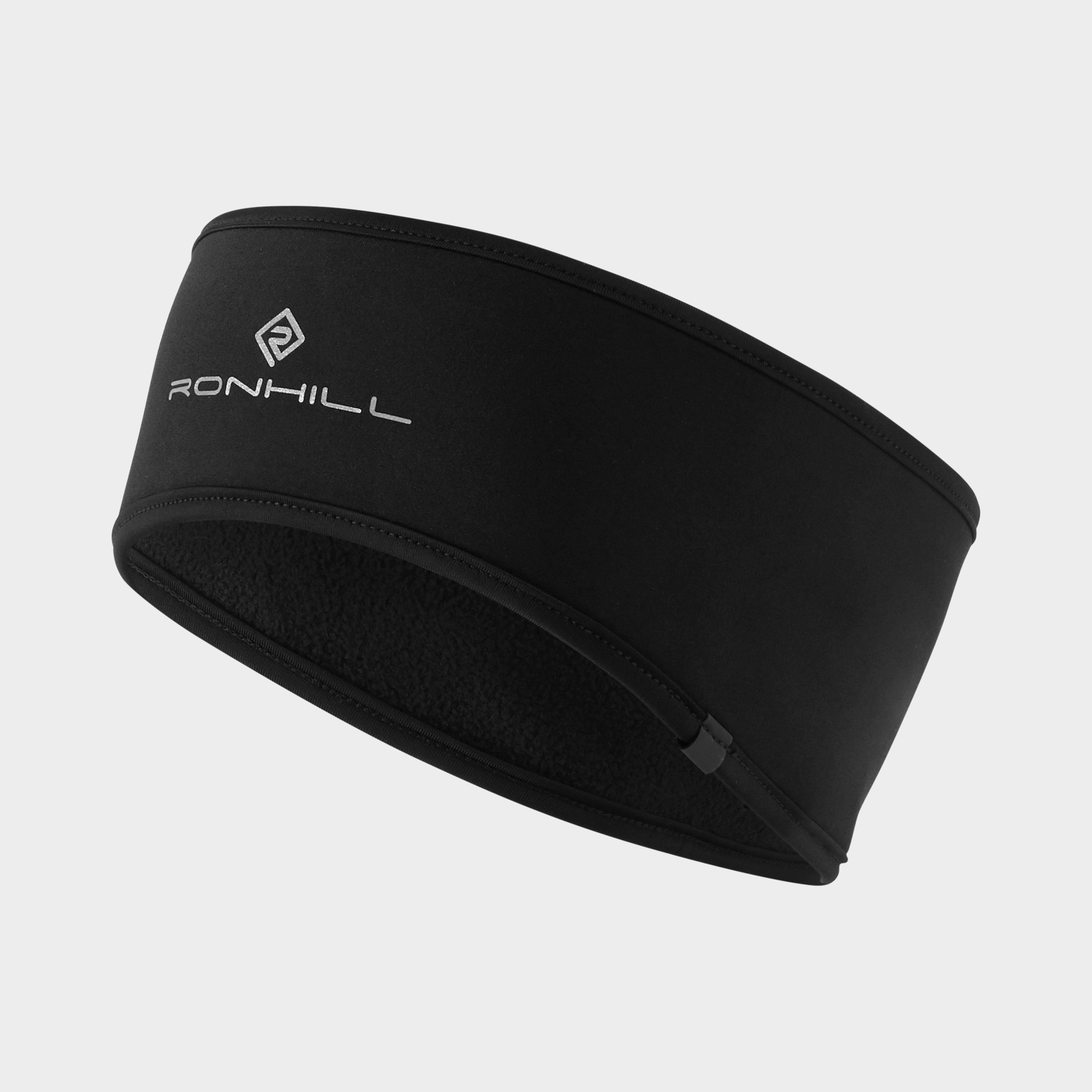 RONHILL Wind Block Windproof Running Gym Thermal Headband Black//Pink *NEW*
