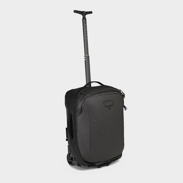 Black Osprey Rolling Transporter Global Carry-On 30 Travel Bag