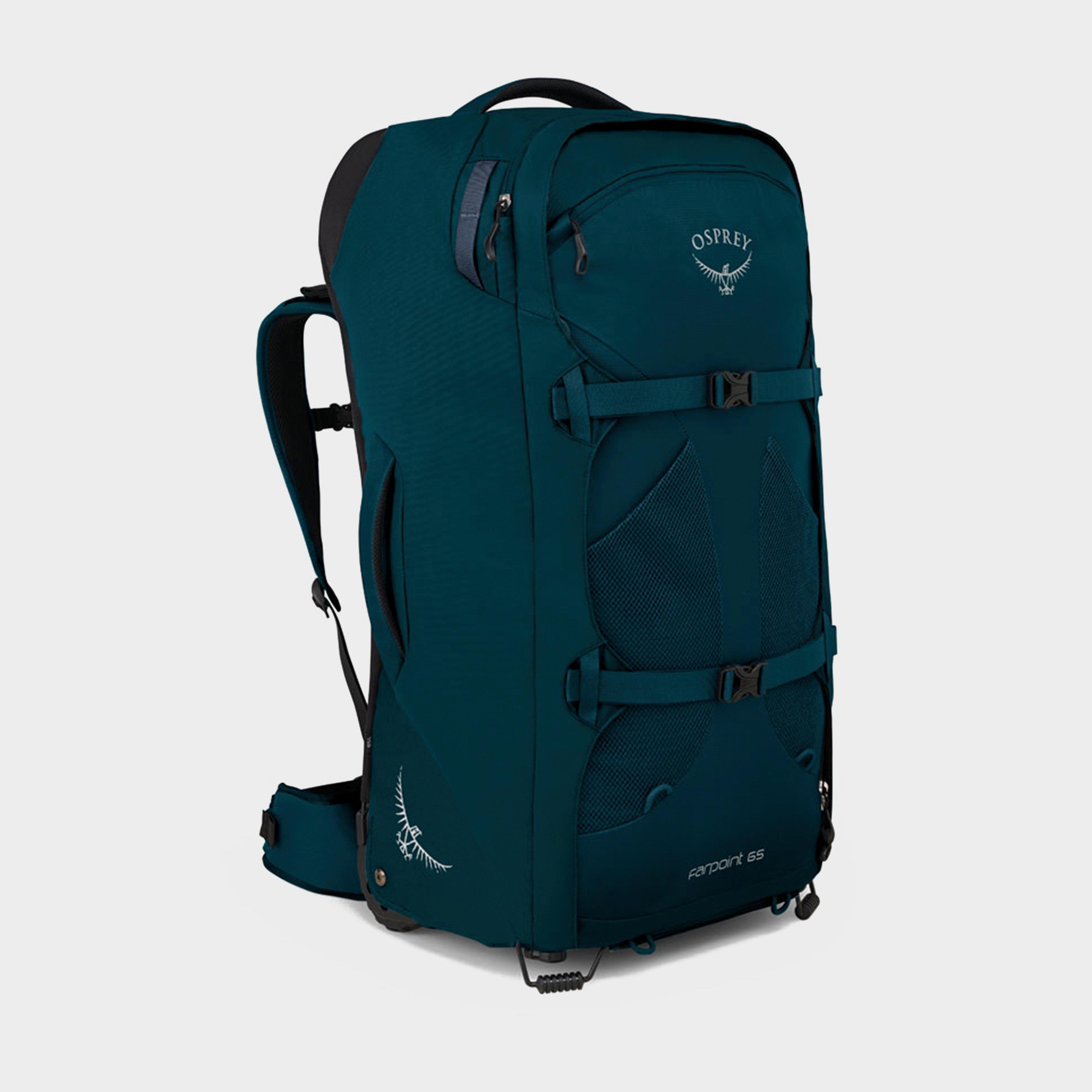 Osprey Farpoint Wheels 65 Travel Backpack - Blue, Blue
