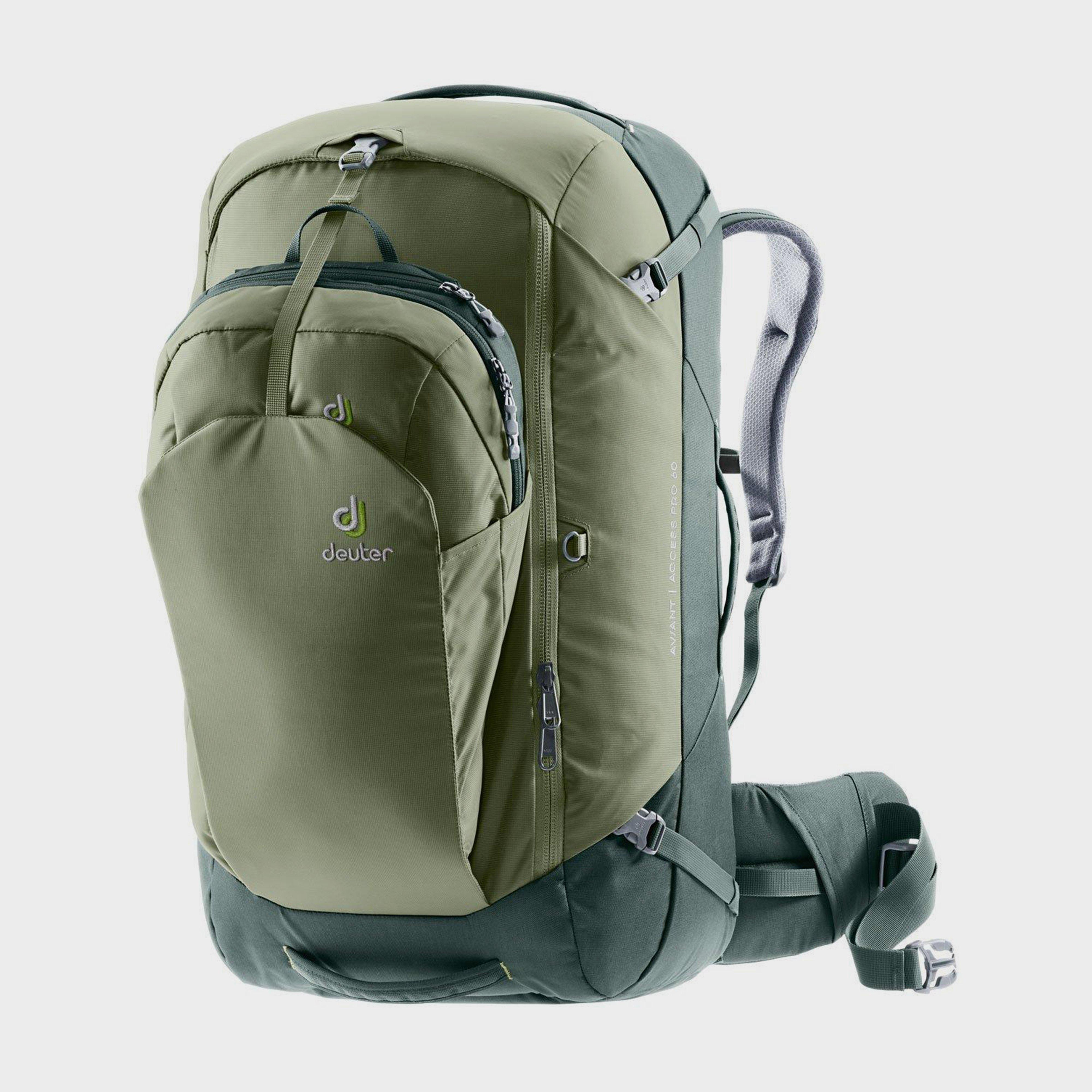 Deuter Aviant Pro 60 Travel Backpack - Green/Green, Green