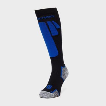Black SALOMON SOCKS Men's Ice Ski Socks