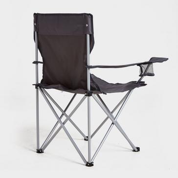 Grey|Grey Eurohike Peak Folding Chair