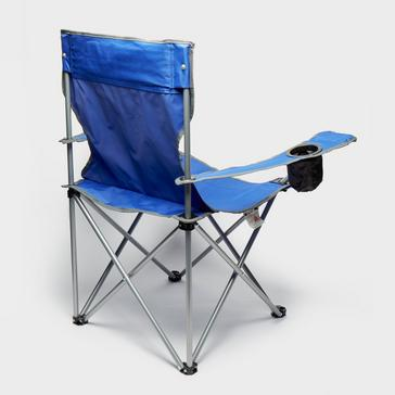 blue Eurohike Peak Folding Chair
