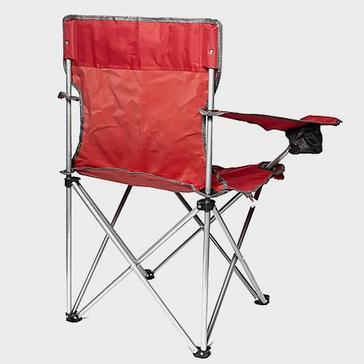 Red Eurohike Peak Folding Chair