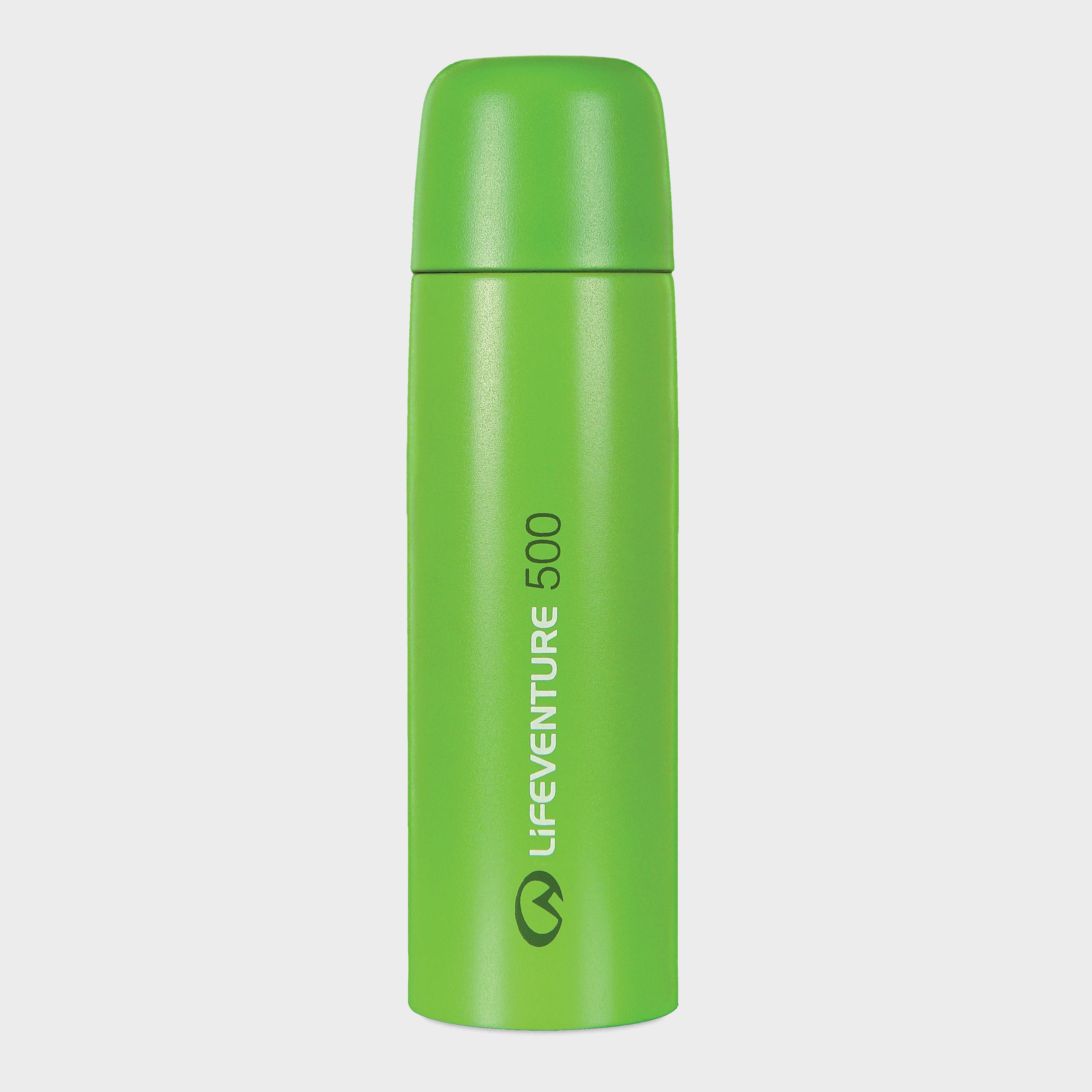 Lifeventure Lifeventure TiV 500ml Flask - Green, Green