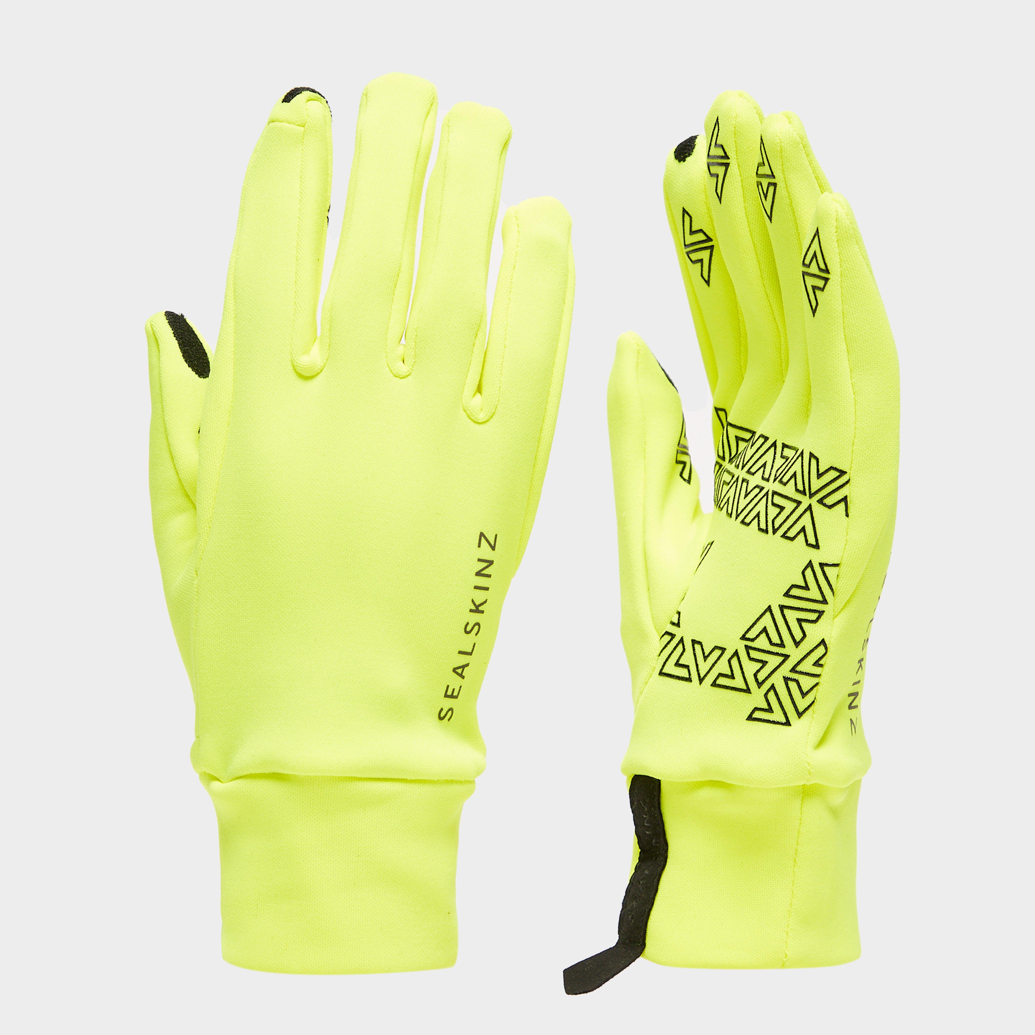 SealSkinz Sealskinz Stretch Nano Gloves - Yellow, Yellow
