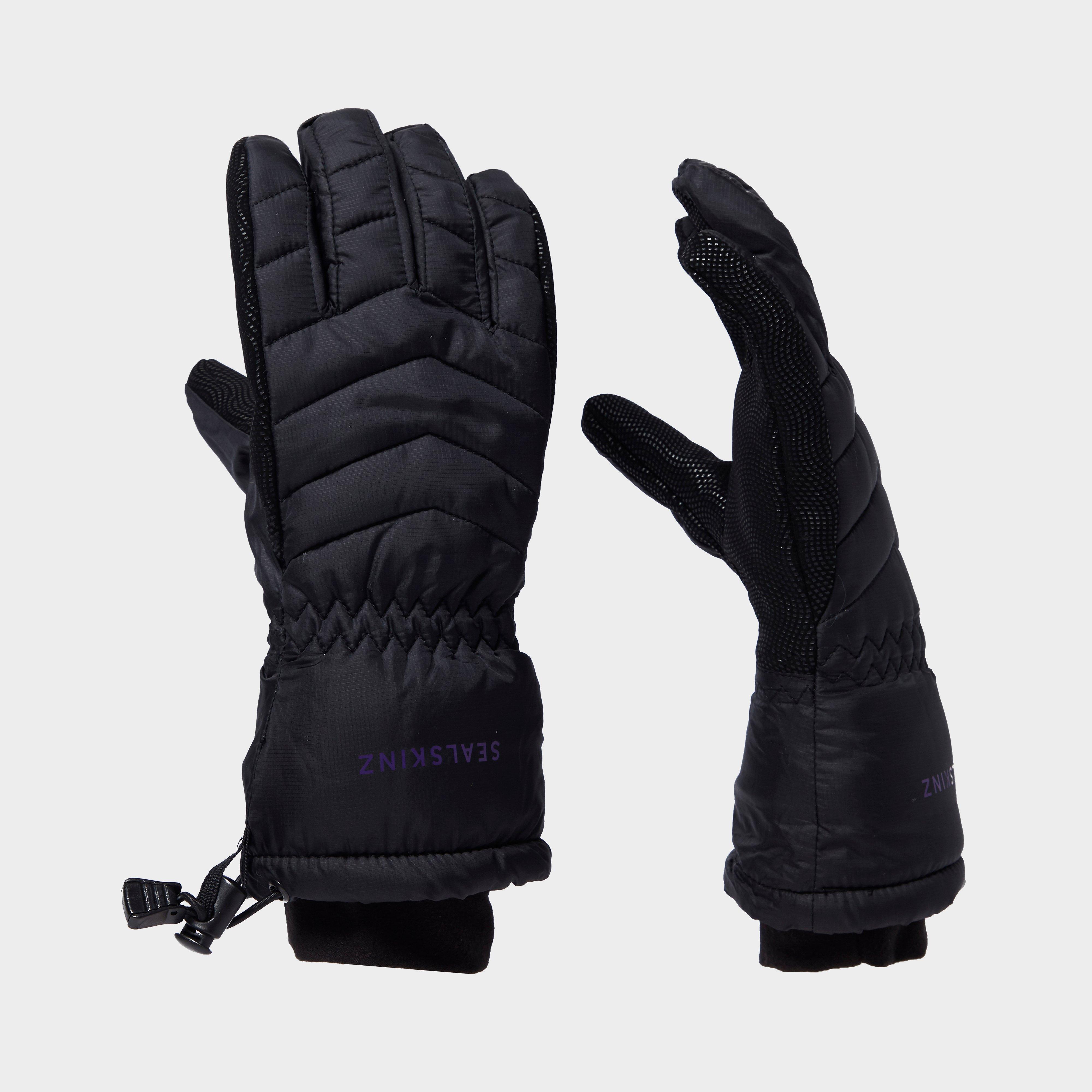 SealSkinz Sealskinz womens Hybrid Outdoor Gloves, Black