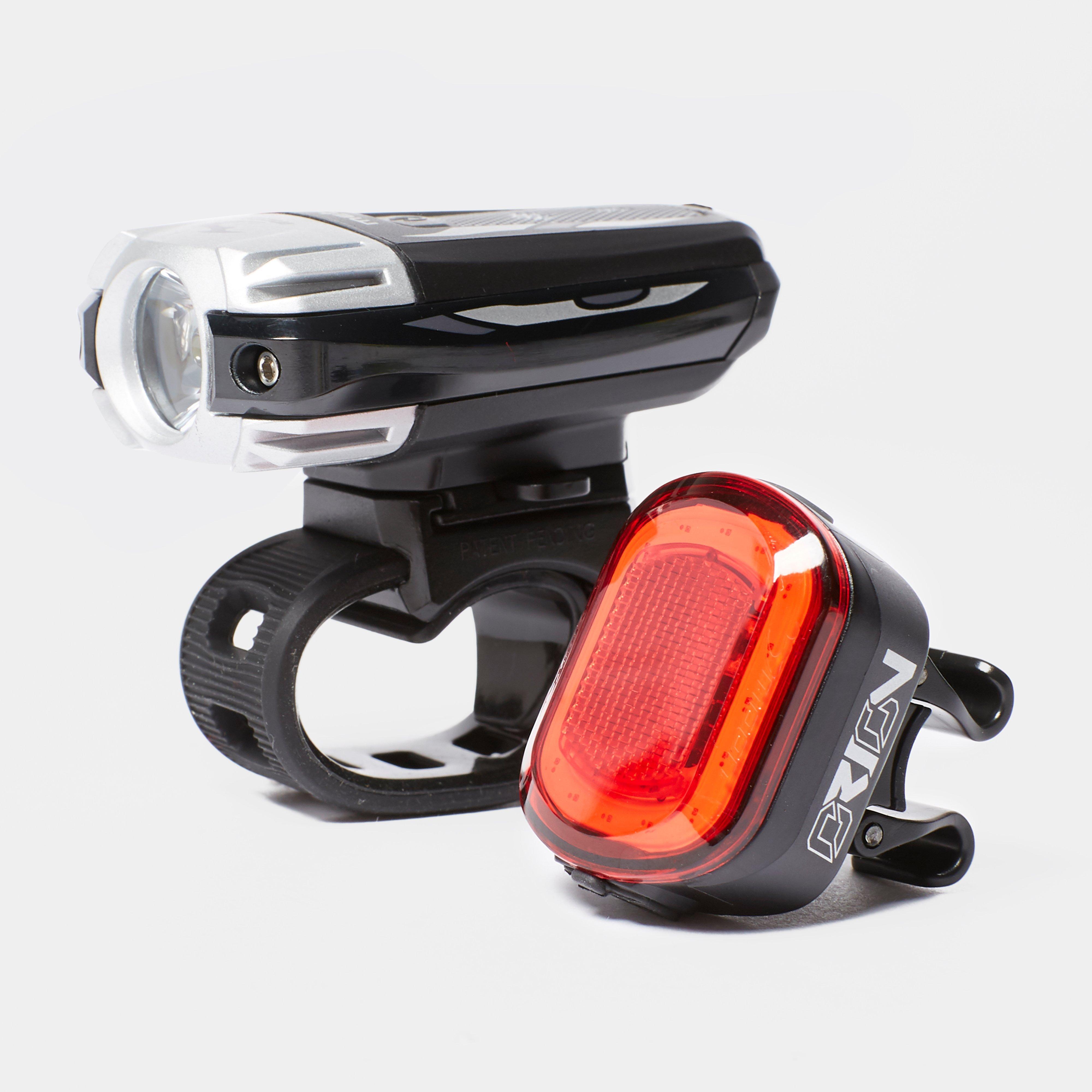 Moonlights Meteor C1 & Orion Bike Light Set - Black/Black, Black