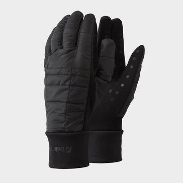 Black Trekmates Kids' Stretch Grip Hybrid Glove
