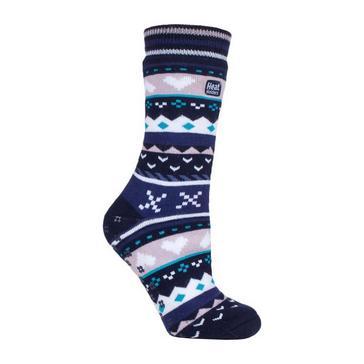 Heat Holders Women's SOUL WARMING Dual Layer Slipper Socks