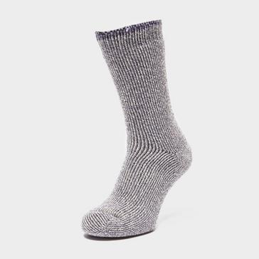 Grey Heat Holders Women's Twist Socks