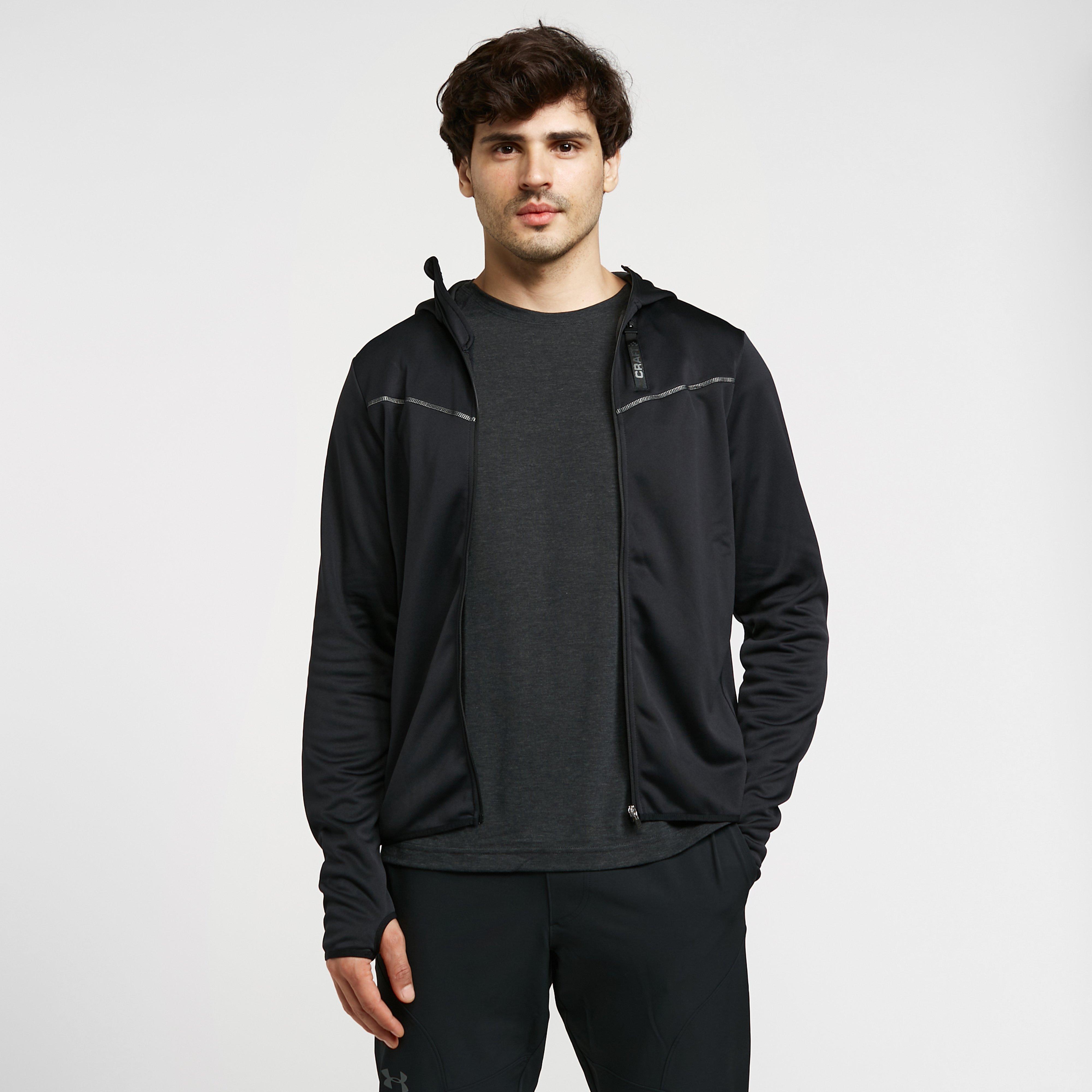 Craft Craft Mens Eaze FZ Sweat Hood Jacket