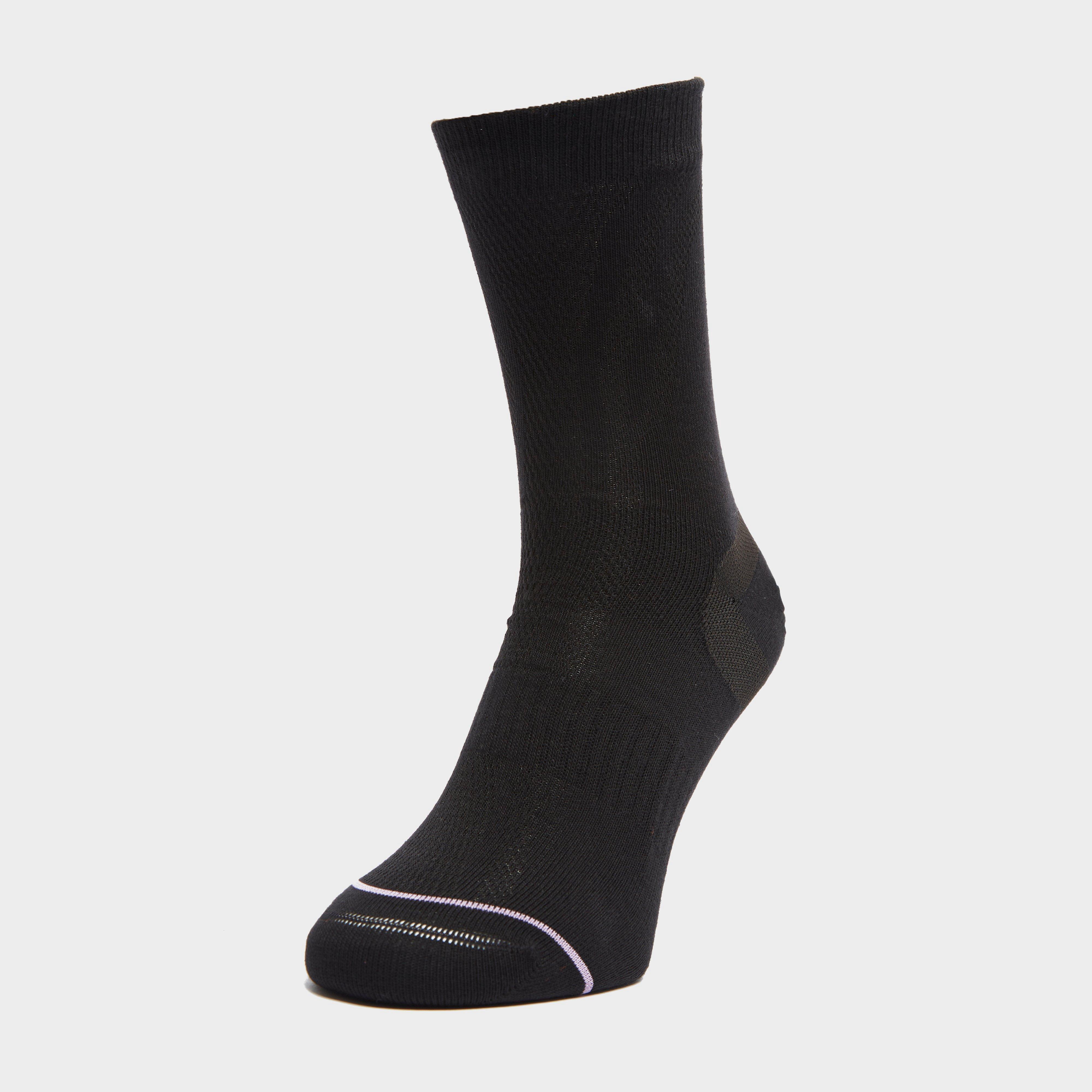 Image of 1000 Mile Tactel Ultimate Liner Socks - Black/Black, BLACK/Black
