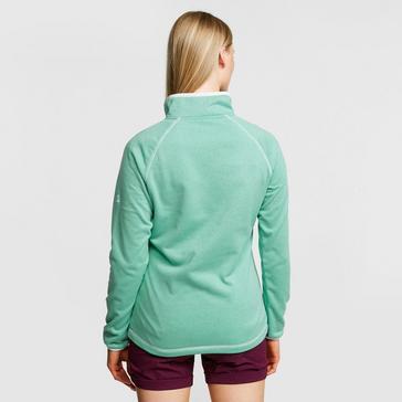 GREEN Craghoppers Women's Delacey Half-Zip Fleece