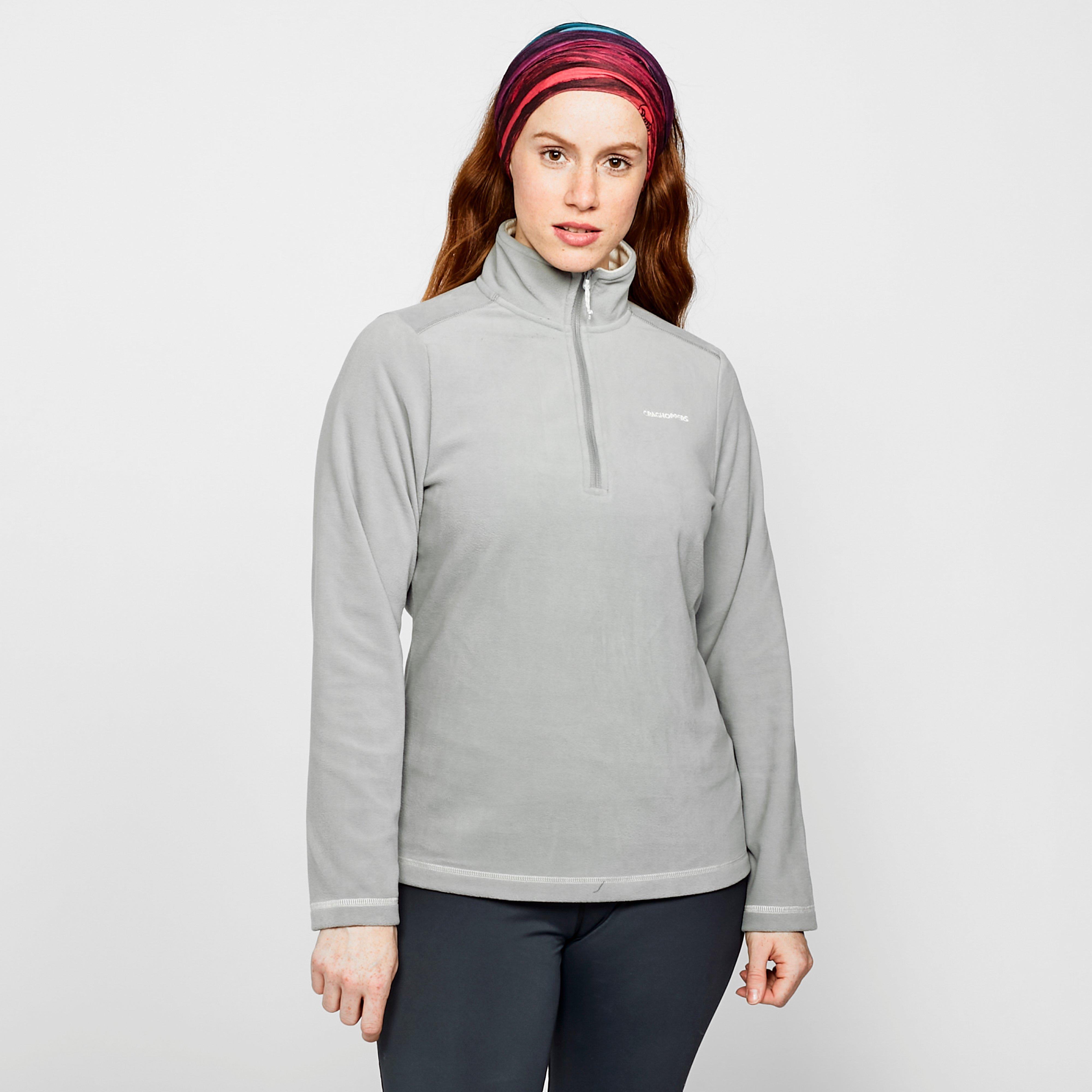 Craghoppers Women's Petra Half Zip Fleece - Grey/Gry, Grey