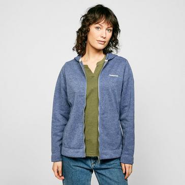 BLUE Craghoppers Women's Croftly Full-zip Fleece
