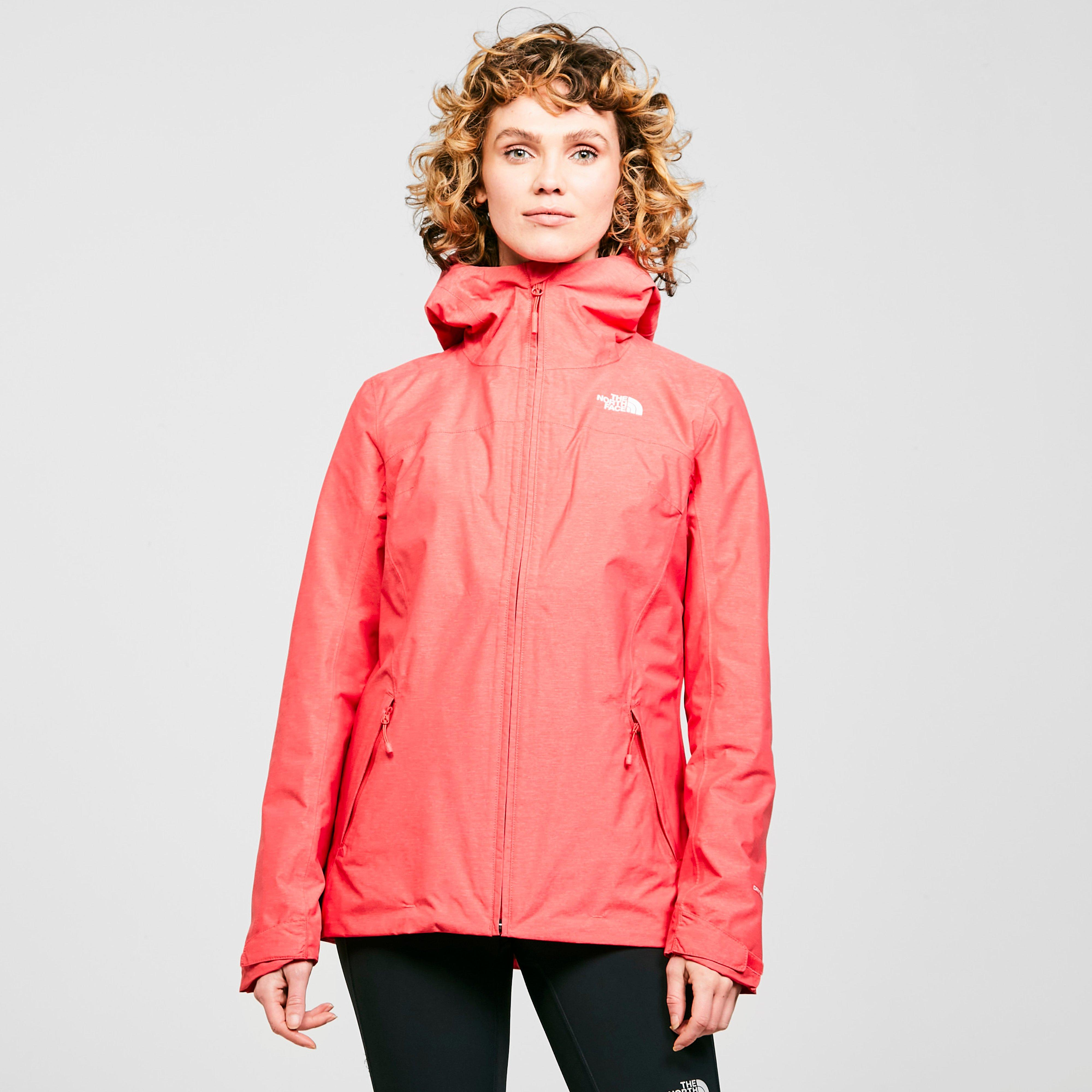 The North Face The North Face womens Nevero Waterproof Jacket, Pink