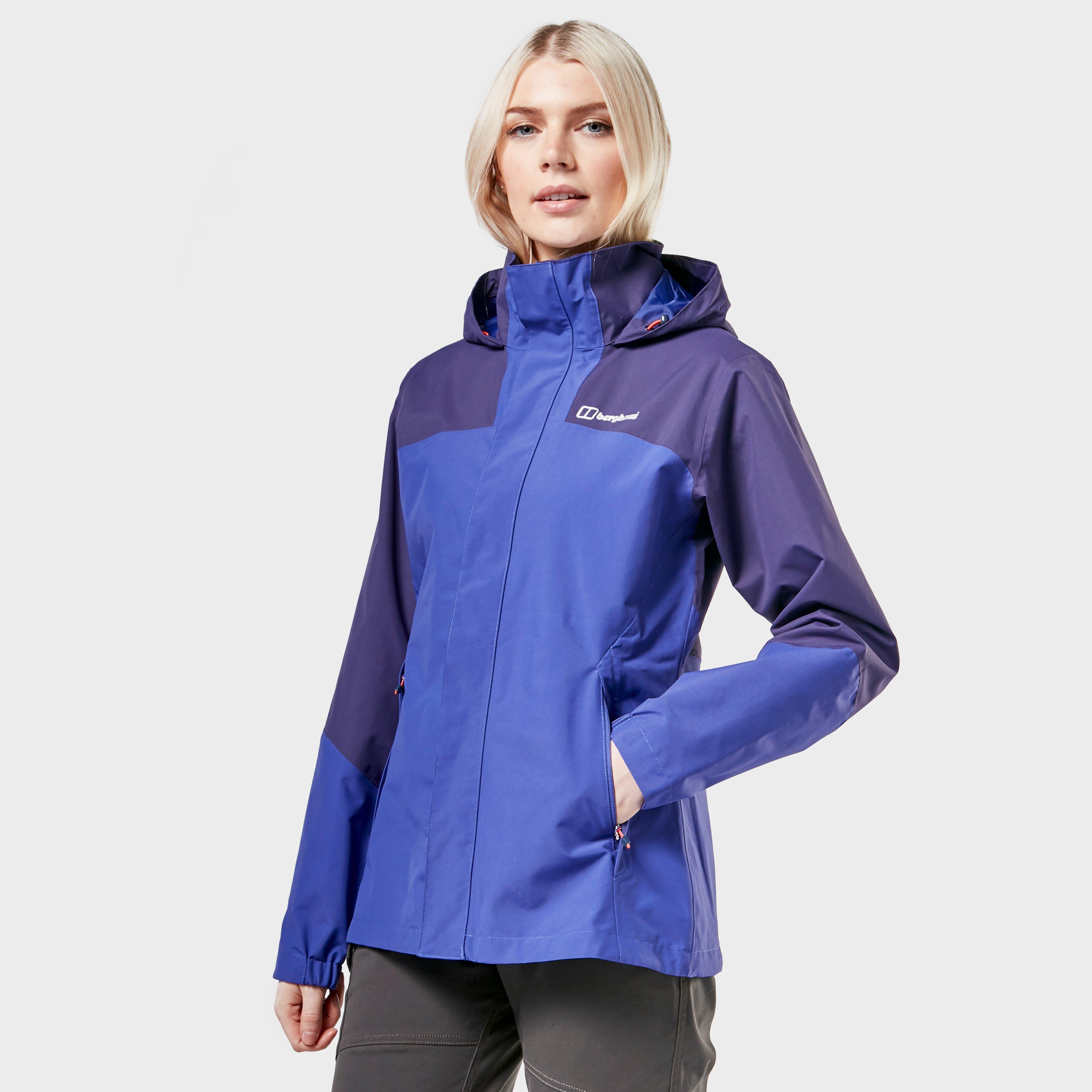 Berghaus Berghaus womens Orestina Waterproof Jacket, Purple