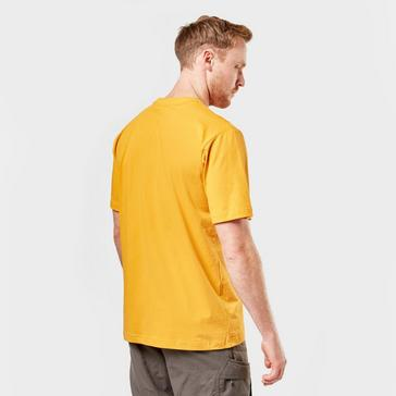 Yellow Berghaus Men's Small Logo T-Shirt