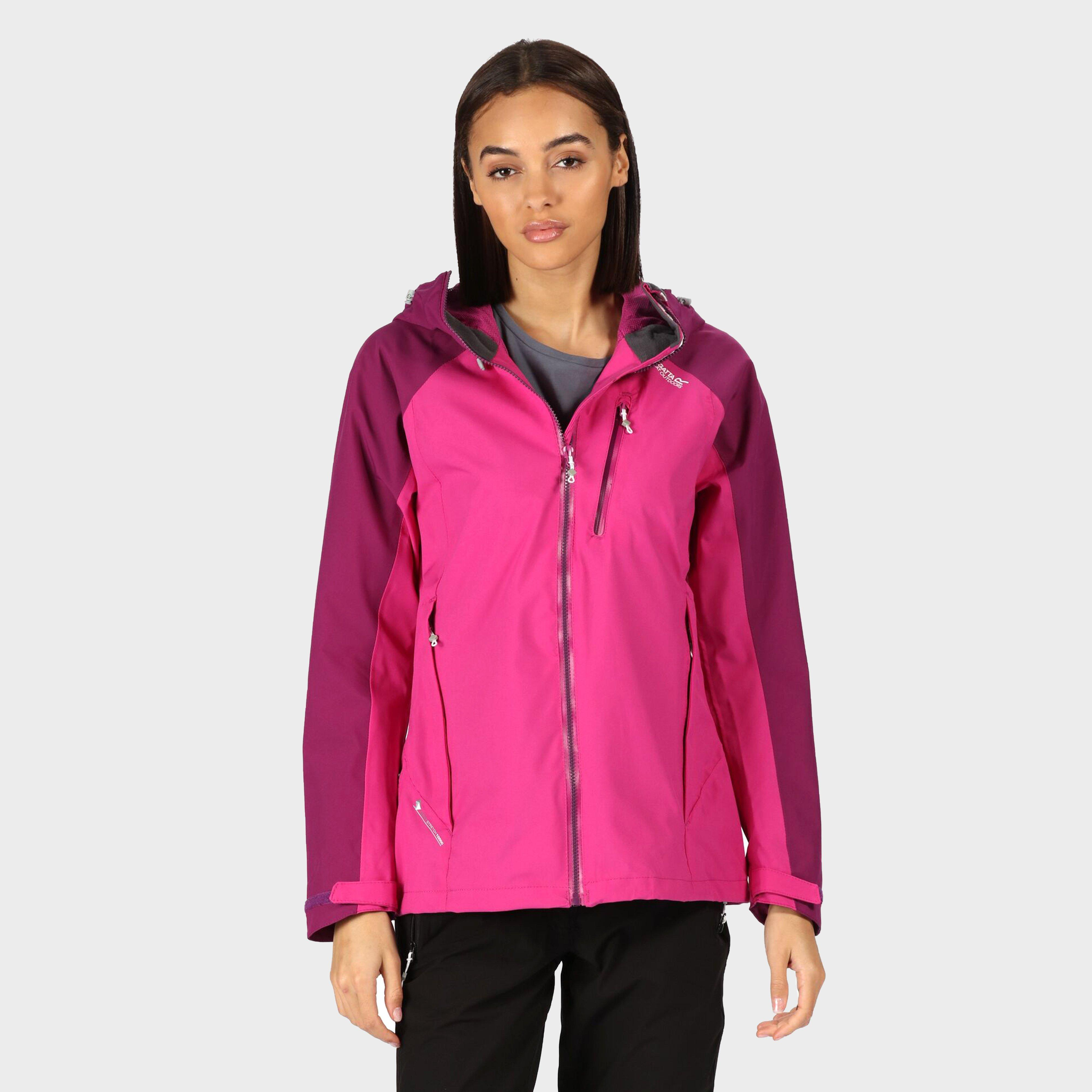 Regatta Regatta womens Birchdale Waterproof Jacket, Pink