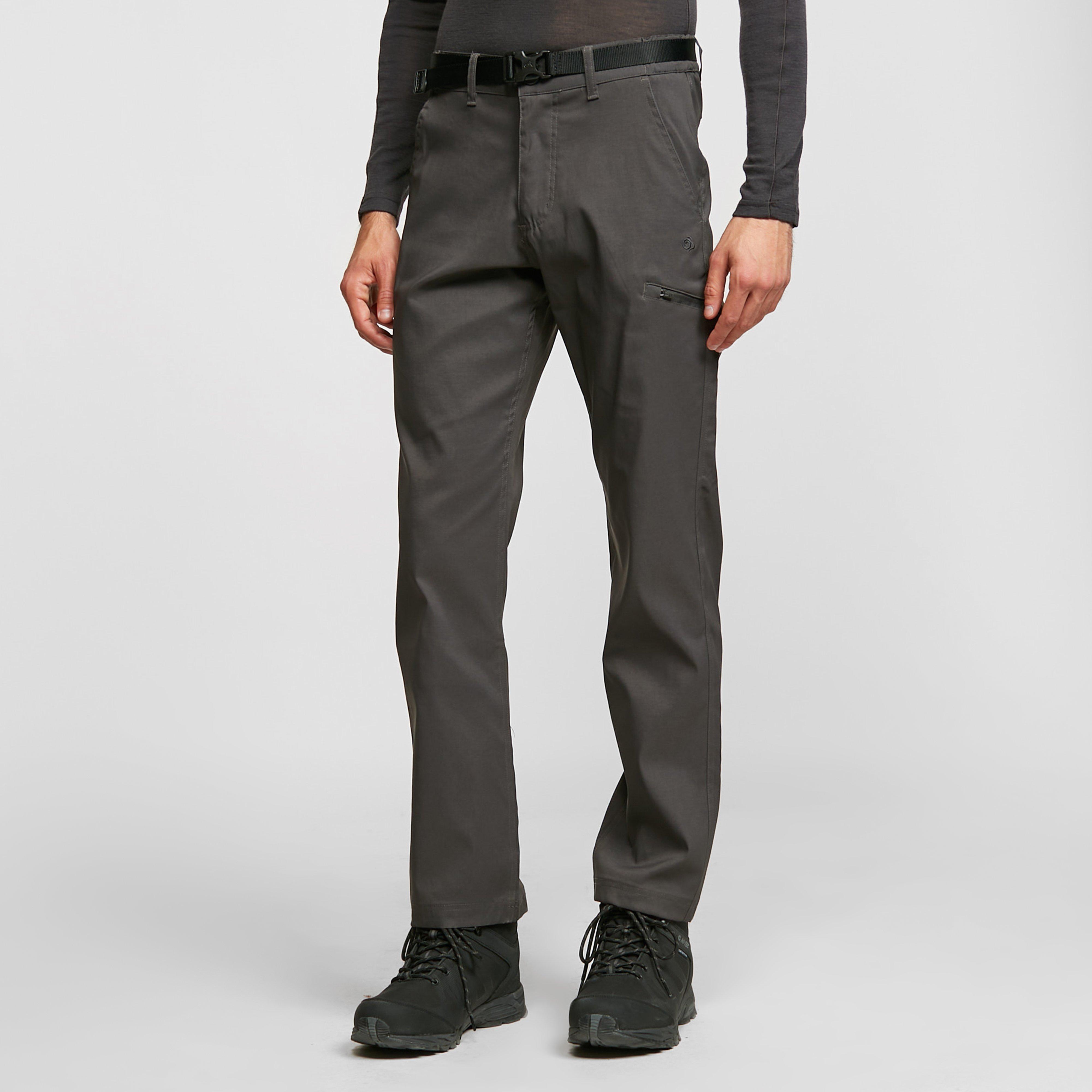 Craghoppers Men's Kiwi Pro Stretch Trousers - Grey, Grey