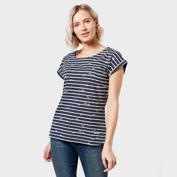 Multi Weird Fish Women's Thandi Patterned T-Shirt