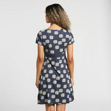 Weird Fish Women's Simi Wrap Dress