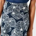 Navy Weird Fish Women's Malmo Printed Skirt image 5
