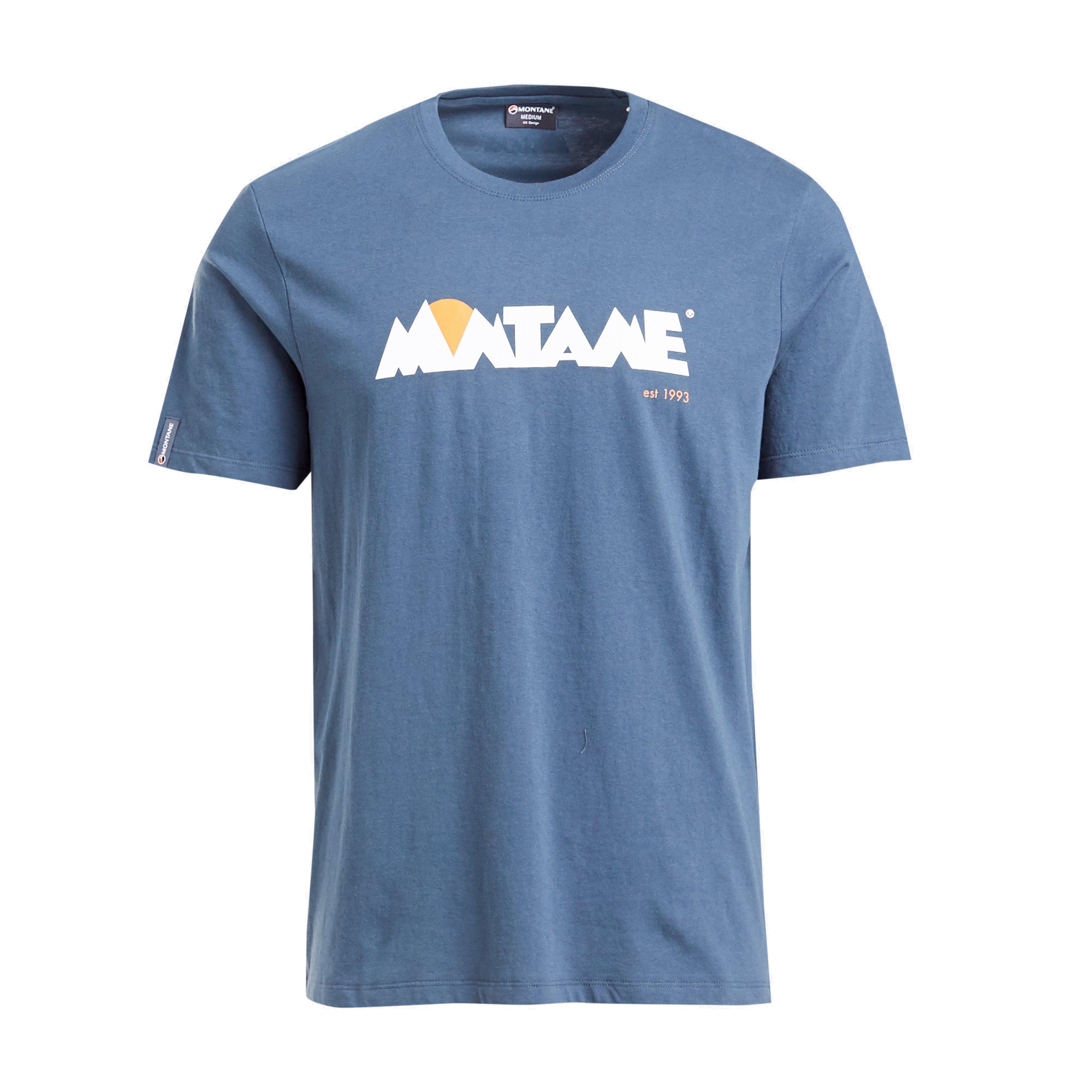 Montane Montane Mens 1993 Tee, Blue