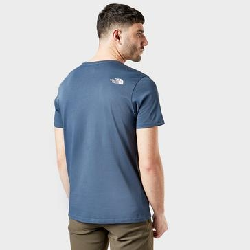 Blue The North Face Men's Easy Tee